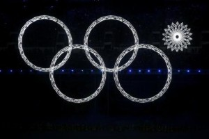 Christophe Rocky Olympic rings